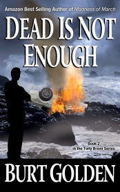Cover for DEAD IS NOT ENOUGH